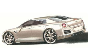 К 2011 году может быть выпущен новый флагман линейки Infiniti, построенный на базе суперкара Nissan GT-R.