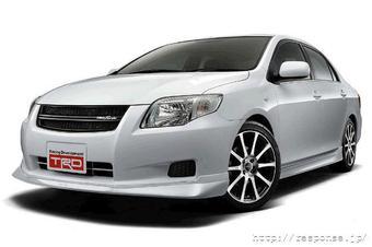Мастерская Toyota Racing Development (TRD) в марте будущего года представит спортивную комплектацию автомобиля Toyota Corolla Axio.