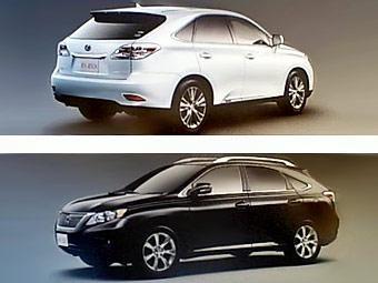 Новое поколение кроссоверов Lexus серии RX. Премьера состоится в ноябре 2008 года.