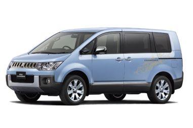 В Японии вышла зимняя комплектация Mitsubishi Delica — Chamonix