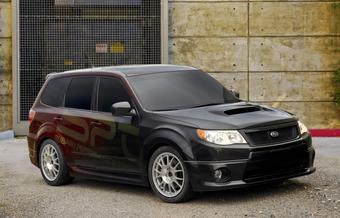 Концепт Subaru Forester XTI был создан американскими специалистами компании Subaru для тюнинг-шоу SEMA.