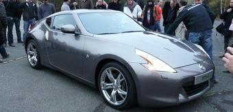 Nissan 370Z без камуфляжа был впервые показан в Европе.