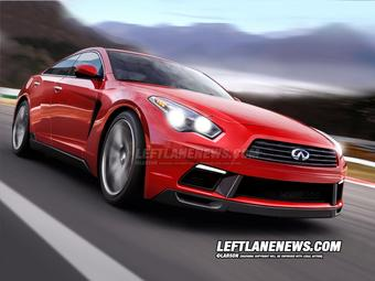 Infiniti GT-R с точки зрения дизайнера издания «Left Lane News».