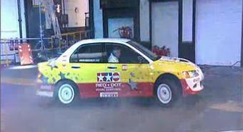 Британец на Mitsubishi Lancer Evolution установил новый рекорд Гиннесса.
