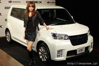 В Японии представлена новая модель Subaru Dex.