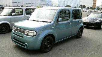 Новый Nissan Cube.
