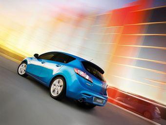 Mazda3 нового поколения в кузове хэтчбэк.
