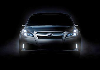 Седан Subaru Legacy Concept будет представлен на мотор-шоу в США.
