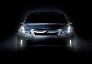 Subaru привезет на мотор-шоу в Детройт концепт Legacy нового поколения