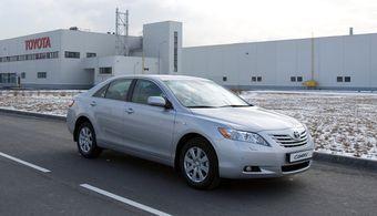 Цена на автомобиль Toyota Camry российского производства останется без изменений, а все остальные модели марок Toyota и Lexus возрастут в цене с 11 января 2009 года.