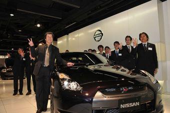 В Японии прошла премьера Nissan GT-R SpecV.