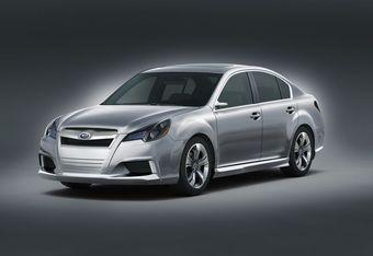 Концепт-кар Subaru Legacy представлен на автошоу в Детройте.
