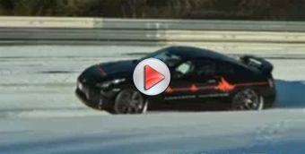 Немцы решили испытать Nissan GT-R на снегу. Процес засняли на видео.