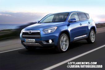 Toyota RAV4 четвертого поколения с точки зрения издания «Leftlanenews».
