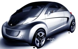 Электрокар Mitsubishi i MiEV SPORT AIR дебютирует в Женеве
