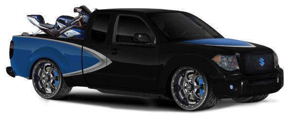 Suzuki вновь привезет в Чикаго тройку концептуальных пикапов Equator