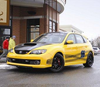 Subaru Impreza WRX STI, доработанная специалистами тюнинг-ателье Vermont SportsCar, будет выставлена на моторшоу в Чикаго.