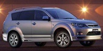 В Австралии начались продажи трехсот кроссоверов Mitsubishi Outlander в особой комплектации RX.