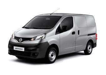 Nissan NV200, пассажирская версия.