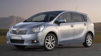 Toyota Corolla Verso нового поколения.