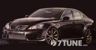 В этом или следующем году планируется выход новой версии седана Lexus IS F.