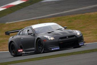 Nissan GT-R будет принимать участие в гонках FIA GT1.