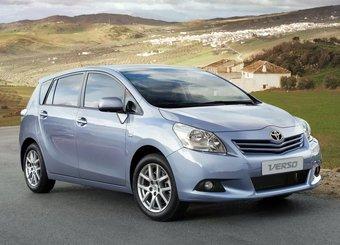Toyota Verso нового поколения.