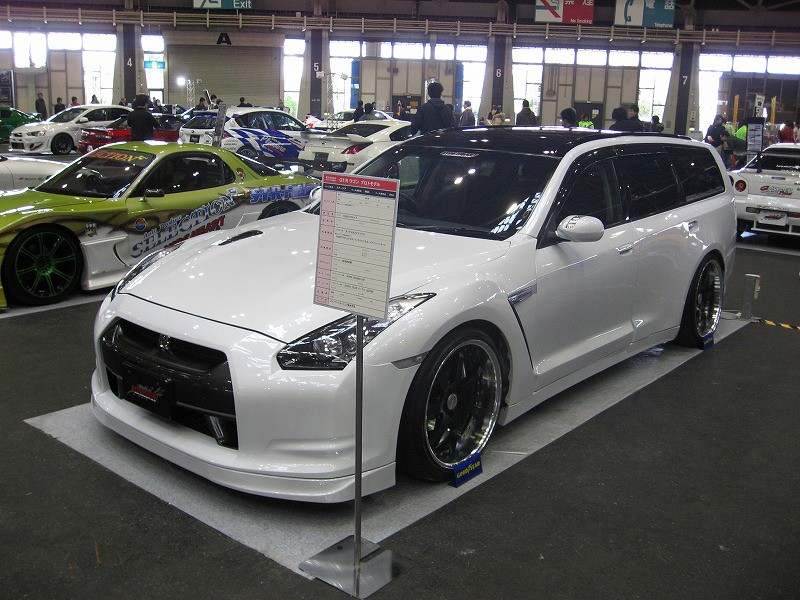nissan skyline stagea