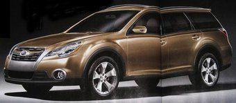 Subaru Legacy Outback нового поколения с точки зрения японского журнала Best Car.