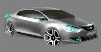 На автошоу в Сеуле будет представлен концепт-кар Samsung eMX.