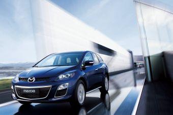Обновленная версия Mazda CX-7 будет предлагаться с дизельным двигателем и системой SCR.