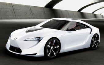 Toyota в очередной раз собралась строить гибридный спортивный автомобиль.