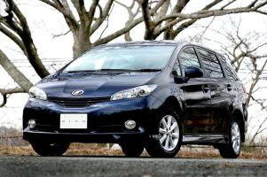 Toyota представила новое поколение минивэна Toyota Wish