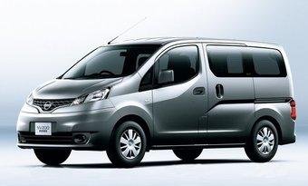 В Японии начался прием заказов на новую модель Nissan NV200 Vanette.