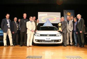 VW Golf стал лучшим автомобилем в рамках конкурса World Car of the Year.
