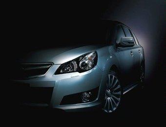 Subaru представляет первое изображение модели Legacy Touring Wagon.