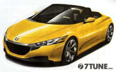 Honda собирается возродить микро-спорт-кар Beat