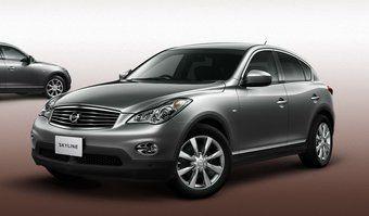 В модельном ряду Nissan Skyline пополнение: к седану и купе добавили кроссовер.