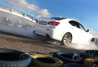 Lexus IS F на тест-драйве Drom.ru