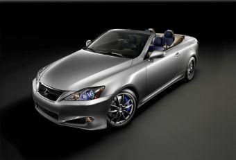Lexus IS C в тюнинге F-Sport.