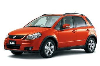Японские автомобили семейства Suzuki SX4 претерпели малую модернизацию.