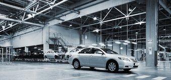 В Петербурге за 4 месяца 2009 года произведено 5 100 легковых автомобилей.