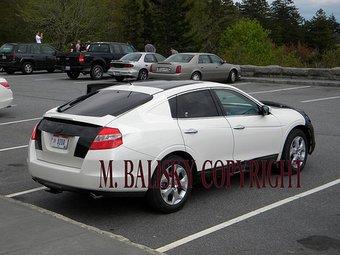 На дорогах США замечен прототип модели Honda Accord в кузове фастбэк.