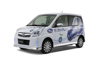 В конце июля в Японии начнется реализация электрокара Subaru Plug-in Stella.