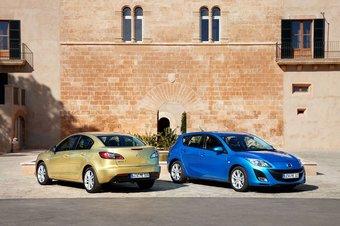 Новая Mazda3 появится в российских дилерских центрах в начале августа.