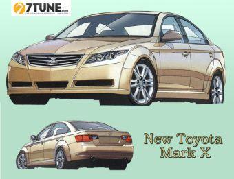 Toyota Mark X с точки зрения журнала Holiday Auto. Изображение с сайта 7tune.com.