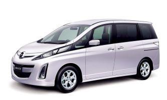 Обновленный минивэн Mazda Biante получил фирменную систему i-stop
