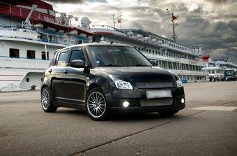 Swift Константина Кошелева стал одним из победителей конкурса тюнинга среди автомобилей марки Suzuki.