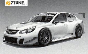 GT300 R&D Sport Subaru Legacy B4. Изображение из журнала Best Car предоставлено порталом 7tune.com.