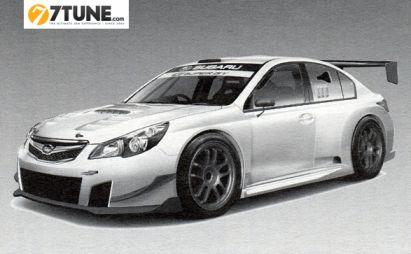 Subaru Legacy B4 будет выступать на трековых гонках за команду R&D Sport